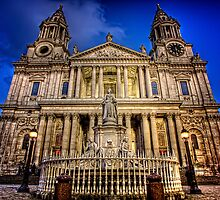 Twilight at St. Pauls by GIStudio