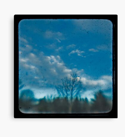 Pay Attention To The Open Sky Canvas Print
