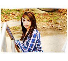 Lori Wells Photography Lexington Ky Area Photographer-Model Tiffany Poster