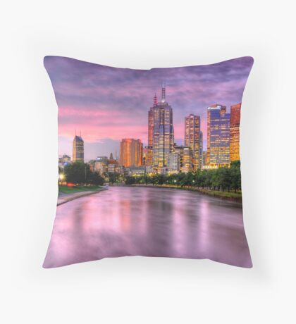 Majestic Melbourne Throw Pillow