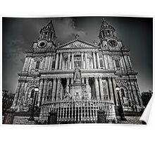 Twilight at St. Pauls Poster