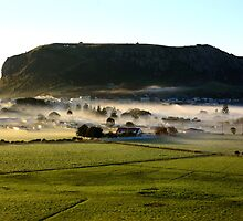 Fog Over Stanley by Stephen Gregory