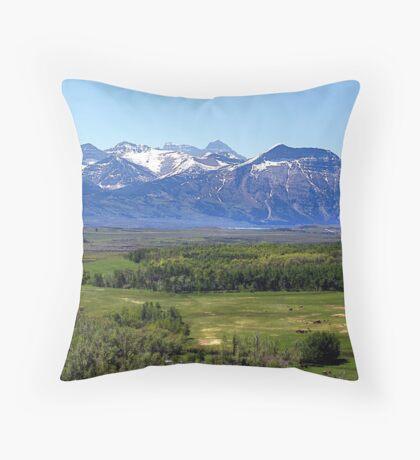 Foothills Throw Pillow