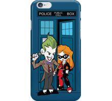Madman in a blue box iPhone Case/Skin