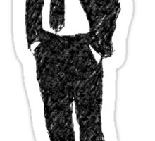 SUITED GAS MASK Sticker