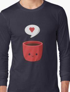 Cute Mug Long Sleeve T-Shirt