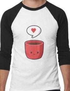 Cute Mug Men's Baseball ¾ T-Shirt