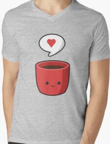 Cute Mug Mens V-Neck T-Shirt