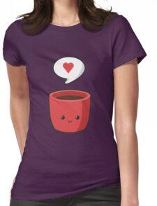 Cute Mug Womens Fitted T-Shirt