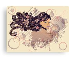 Music Girl 2 Canvas Print