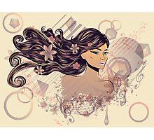 Music Girl 2 Photographic Print