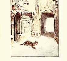 The Tailor of Gloucester Beatrix Potter 1903 0057 Cat Goes Out by wetdryvac