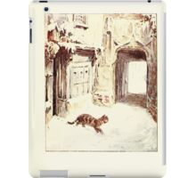 The Tailor of Gloucester Beatrix Potter 1903 0057 Cat Goes Out iPad Case/Skin