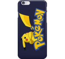 pokemon pikachu anime manga shirt iPhone Case/Skin