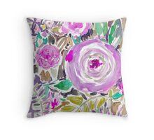 Jakarta Bouquet Floral Throw Pillow