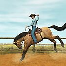 Bronco Buster by Walter Colvin