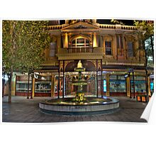 Rundle Mall Fountain - Adelaide Poster