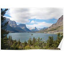 Wild Goose Island, Glacier National Park Poster