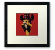 FOB Bear Framed Print
