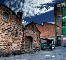 Back Alley - off Frome Rd, Adelaide by papertopixels