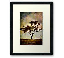 Earth's poetry Framed Print