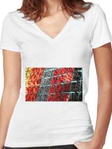 Berry Wise Women's Fitted V-Neck T-Shirt