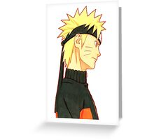 Naruto and Sasuke #2 Greeting Card
