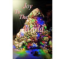 Joy To The World Photographic Print