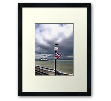 Jubilee and the seagull Framed Print