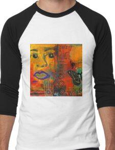 Paint Your Dreams, Ms Angela Men's Baseball ¾ T-Shirt