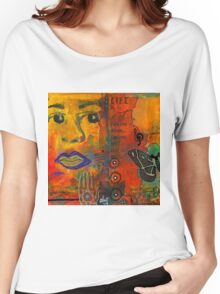 Paint Your Dreams, Ms Angela Women's Relaxed Fit T-Shirt