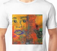 Paint Your Dreams, Ms Angela Unisex T-Shirt