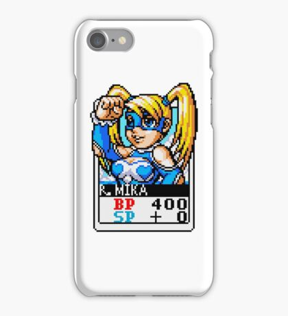 R. Mika - Street Fighter iPhone Case/Skin