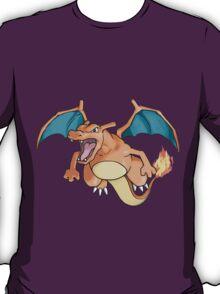 pokemon charizard anime manga shirt T-Shirt