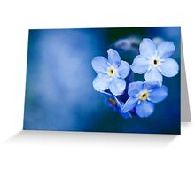 Blue Days Greeting Card