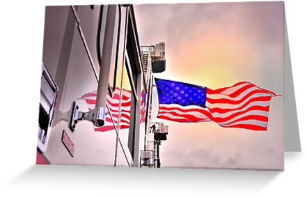 Reflections of Old Glory by pdsfotoart
