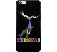 pokemon xerneas anime manga shirt iPhone Case/Skin