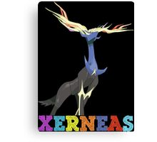 pokemon xerneas anime manga shirt Canvas Print