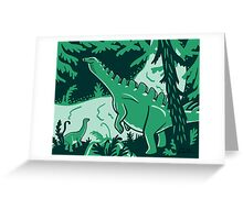 Long Necks print Greeting Card