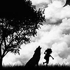 Mowgli and the Wolf by Rookwood Studio ©