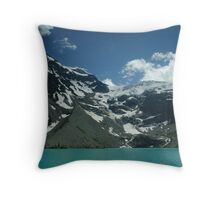 Upper Joffre Lake and Glaciers beyond Throw Pillow