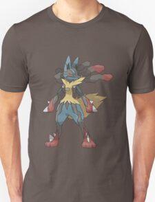 pokemon lucario anime manga shirt T-Shirt