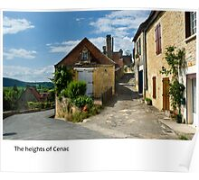 Dordogne - Cenac heights Poster