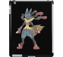 pokemon lucario anime manga shirt iPad Case/Skin