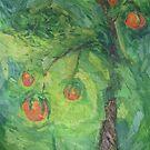 Peach Tree by Ellen  Dean