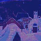 Le Petit Village à Noël by Rick  Todaro