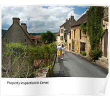 Dordogne - Cenac property inspection Poster