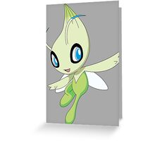 pokemon celebi anime manga shirt Greeting Card