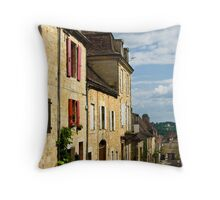 Dordogne - Afternoon light in Domme Throw Pillow