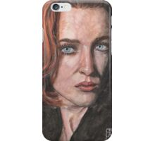 X-Files Agent Scully iPhone Case/Skin